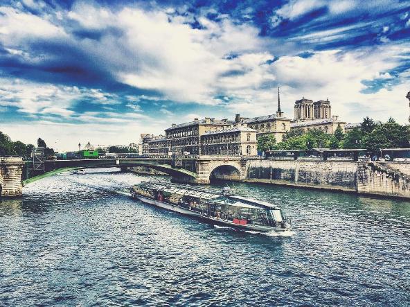 Viaje a París: Río Sena